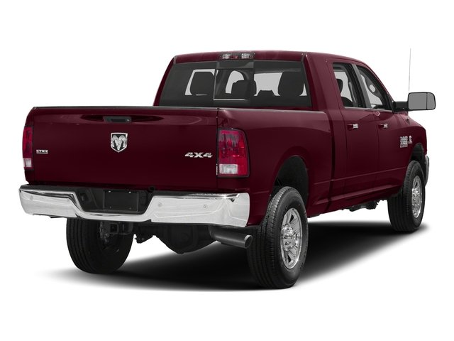 Delmonico Red Pearlcoat 2018 Ram Truck 3500 Pictures 3500 Mega Cab Bighorn/Lone Star 2WD photos rear view