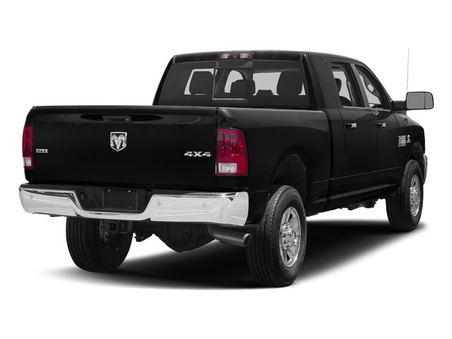 Brilliant Black Crystal Pearlcoat 2018 Ram Truck 3500 Pictures 3500 Mega Cab Bighorn/Lone Star 2WD photos rear view