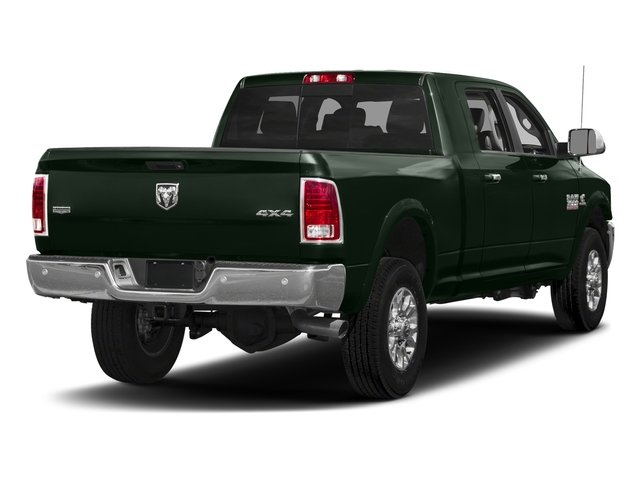 Black Forest Green Pearlcoat 2018 Ram Truck 3500 Pictures 3500 Mega Cab Longhorn 2WD photos rear view