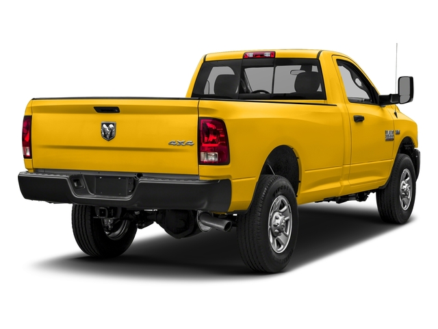Yellow 2018 Ram Truck 3500 Pictures 3500 Tradesman 4x2 Reg Cab 8' Box photos rear view