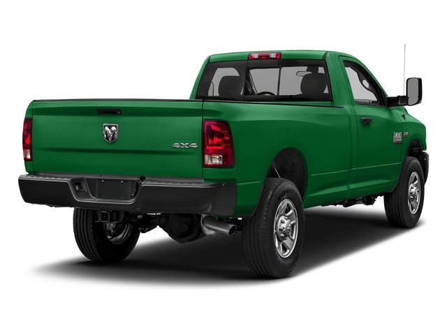 Bright Green 2018 Ram Truck 3500 Pictures 3500 Tradesman 4x2 Reg Cab 8' Box photos rear view