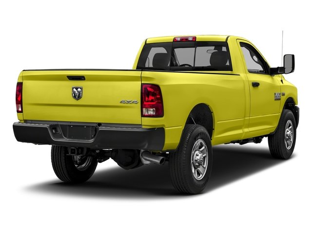 National Safety Yellow 2018 Ram Truck 3500 Pictures 3500 Tradesman 4x2 Reg Cab 8' Box photos rear view