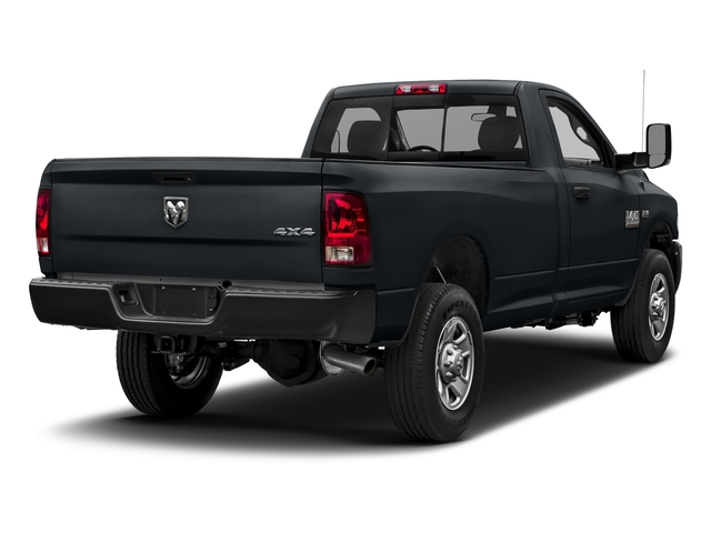 Maximum Steel Metallic Clearcoat 2018 Ram Truck 3500 Pictures 3500 Tradesman 4x2 Reg Cab 8' Box photos rear view