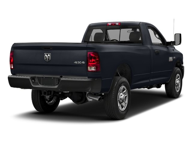 Midnight Blue Pearlcoat 2018 Ram Truck 3500 Pictures 3500 Tradesman 4x2 Reg Cab 8' Box photos rear view
