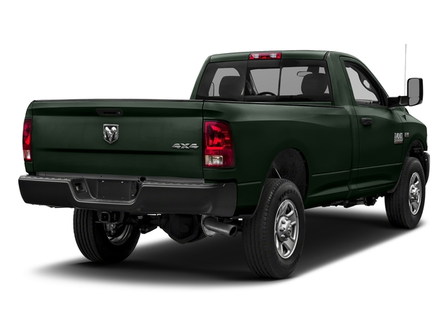 Black Forest Green Pearlcoat 2018 Ram Truck 3500 Pictures 3500 Tradesman 4x2 Reg Cab 8' Box photos rear view