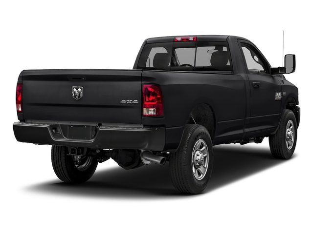 Black Clearcoat 2018 Ram Truck 3500 Pictures 3500 Tradesman 4x2 Reg Cab 8' Box photos rear view