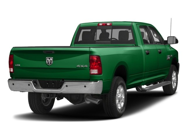 Bright Green 2018 Ram Truck 3500 Pictures 3500 Big Horn 4x4 Crew Cab 8' Box photos rear view