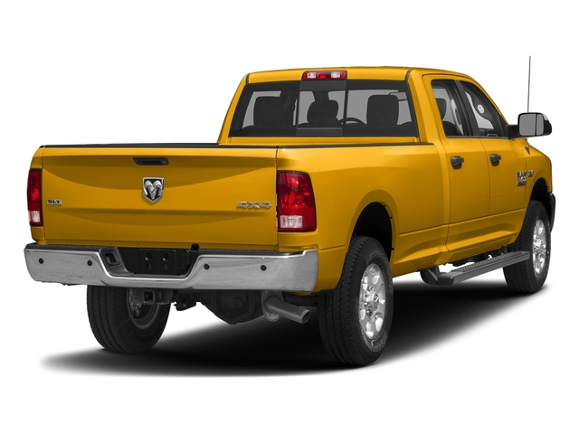 Construction Yellow 2018 Ram Truck 3500 Pictures 3500 Big Horn 4x4 Crew Cab 8' Box photos rear view