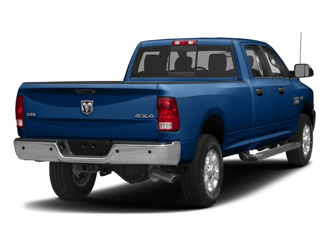 Blue Streak Pearlcoat 2018 Ram Truck 3500 Pictures 3500 Big Horn 4x4 Crew Cab 8' Box photos rear view
