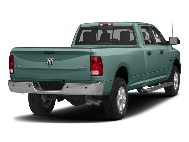 Light Green 2018 Ram Truck 3500 Pictures 3500 Big Horn 4x4 Crew Cab 8' Box photos rear view
