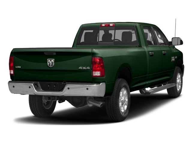 Timberline Green Pearlcoat 2018 Ram Truck 3500 Pictures 3500 Big Horn 4x4 Crew Cab 8' Box photos rear view