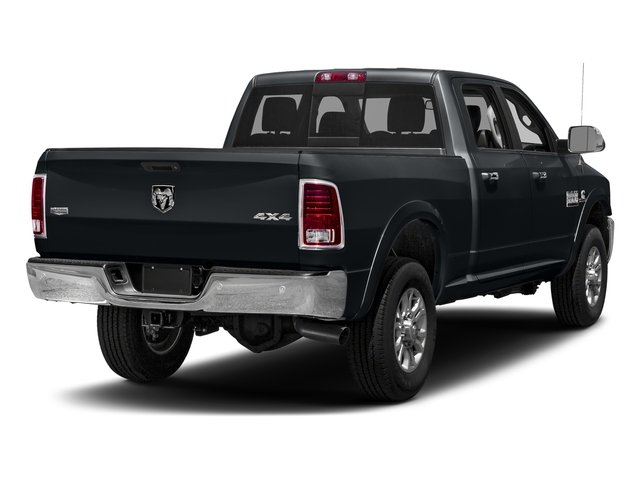 Maximum Steel Metallic Clearcoat 2018 Ram Truck 3500 Pictures 3500 Limited 4x2 Crew Cab 6'4 Box photos rear view