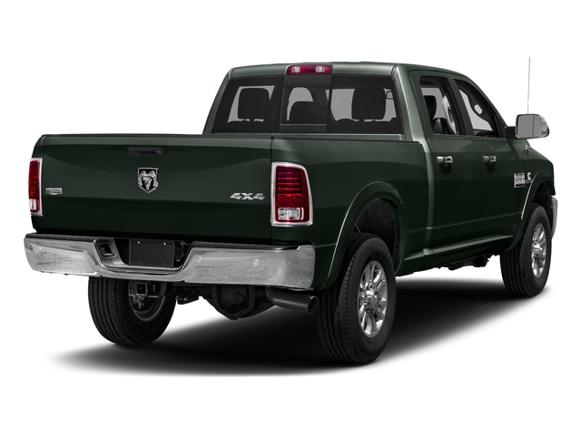 Black Forest Green Pearlcoat 2018 Ram Truck 3500 Pictures 3500 Laramie Longhorn 4x4 Crew Cab 6'4 Box photos rear view