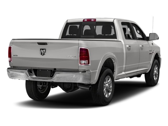 Bright Silver Metallic Clearcoat 2018 Ram Truck 3500 Pictures 3500 Limited 4x2 Crew Cab 6'4 Box photos rear view