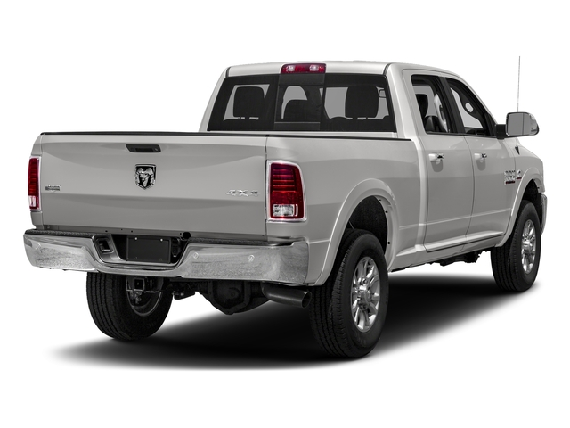 Bright Silver Metallic Clearcoat 2018 Ram Truck 3500 Pictures 3500 Laramie Longhorn 4x4 Crew Cab 6'4 Box photos rear view