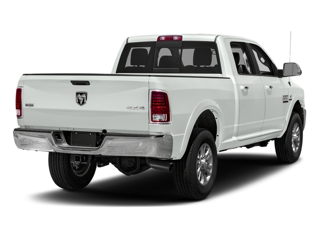 Bright White Clearcoat 2018 Ram Truck 3500 Pictures 3500 Limited 4x2 Crew Cab 6'4 Box photos rear view