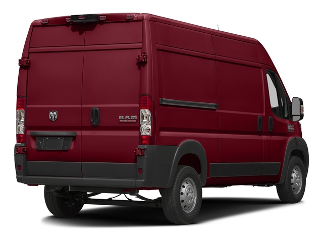 Deep Cherry Red Crystal Pearlcoat 2018 Ram Truck ProMaster Cargo Van Pictures ProMaster Cargo Van 1500 High Roof 136 WB photos rear view