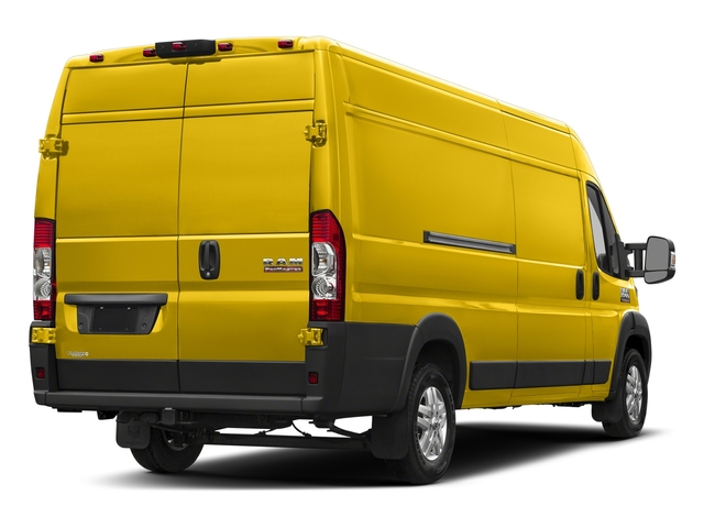 Broom Yellow Clearcoat 2018 Ram Truck ProMaster Cargo Van Pictures ProMaster Cargo Van 3500 High Roof 159 WB EXT photos rear view