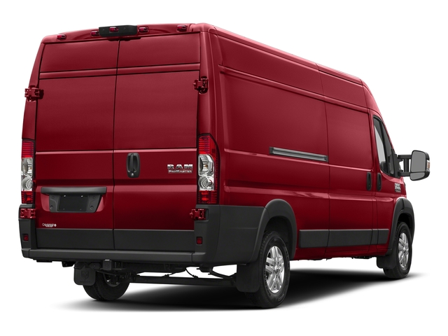 Flame Red Clearcoat 2018 Ram Truck ProMaster Cargo Van Pictures ProMaster Cargo Van 3500 High Roof 159 WB EXT photos rear view
