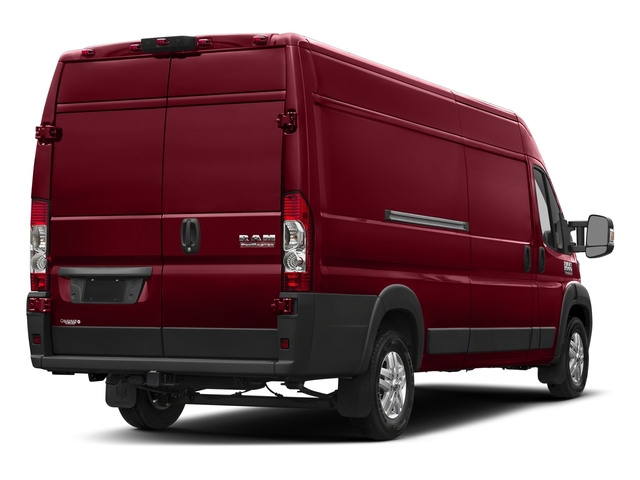 Deep Cherry Red Crystal Pearlcoat 2018 Ram Truck ProMaster Cargo Van Pictures ProMaster Cargo Van 3500 High Roof 159 WB EXT photos rear view