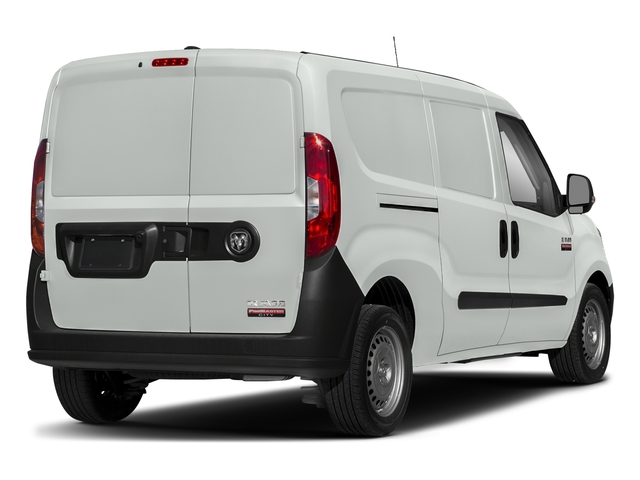 Bright White 2018 Ram Truck ProMaster City Cargo Van Pictures ProMaster City Cargo Van Tradesman SLT Van photos rear view