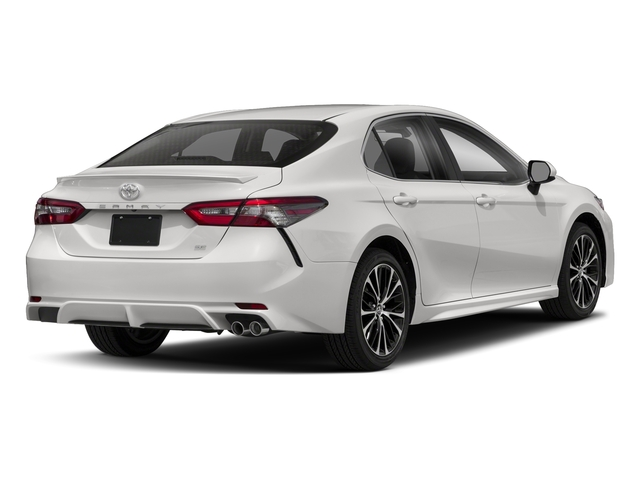 Super White 2018 Toyota Camry Pictures Se Auto Photos Rear View
