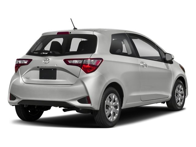 Classic Silver Metallic 2018 Toyota Yaris Pictures Yaris Hatchback 3D LE I4 photos rear view