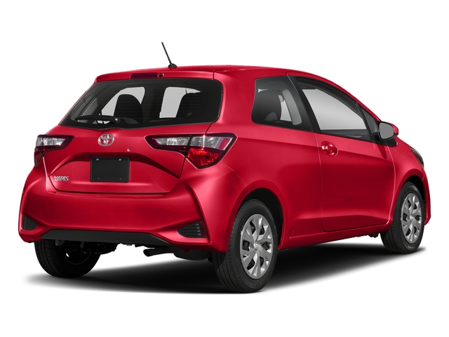 Ruby Flare Pearl 2018 Toyota Yaris Pictures Yaris Hatchback 3D LE I4 photos rear view
