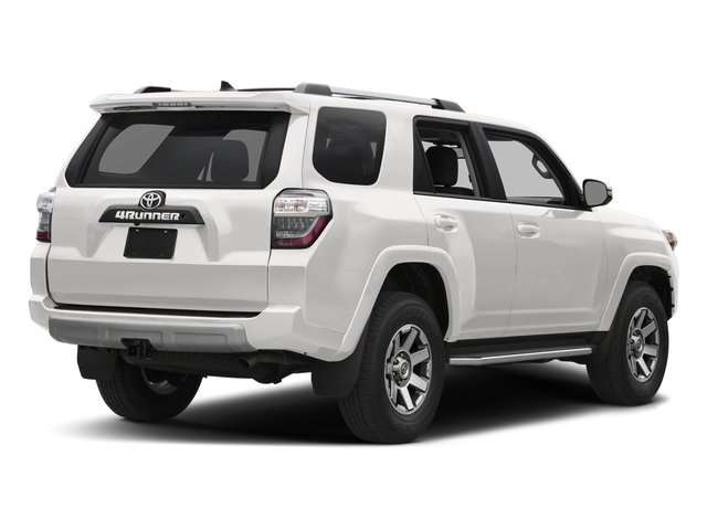 Super White 2018 Toyota 4Runner Pictures 4Runner TRD Off Road 4WD photos rear view