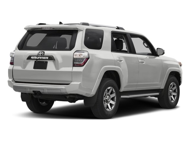 Classic Silver Metallic 2018 Toyota 4Runner Pictures 4Runner TRD Off Road 4WD photos rear view
