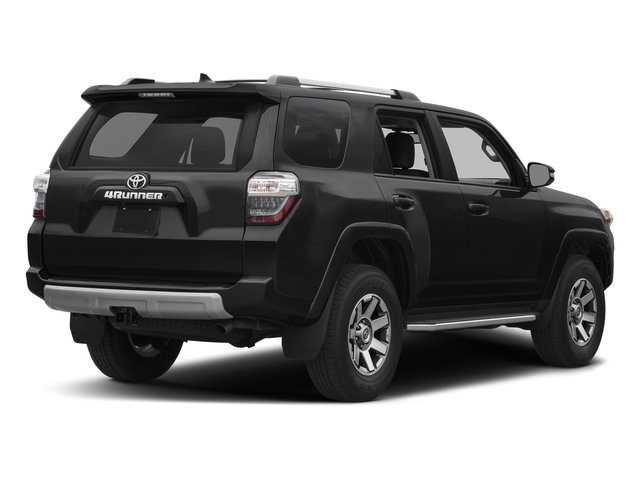 Midnight Black Metallic 2018 Toyota 4Runner Pictures 4Runner TRD Off Road 4WD photos rear view