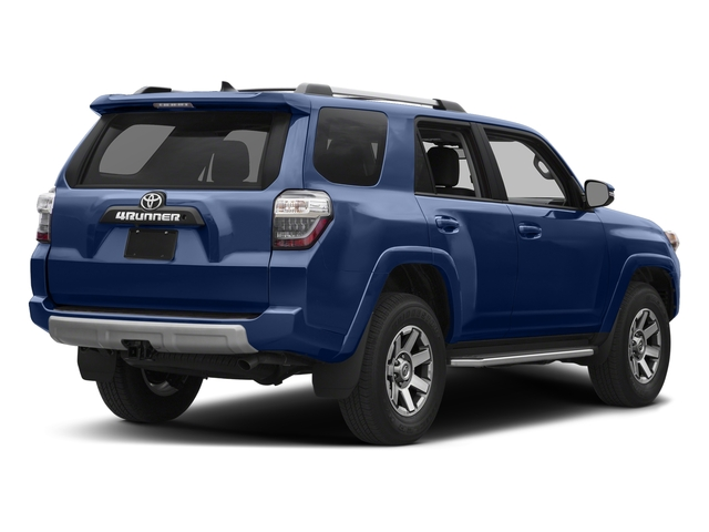 Nautical Blue Metallic 2018 Toyota 4Runner Pictures 4Runner TRD Off Road 4WD photos rear view