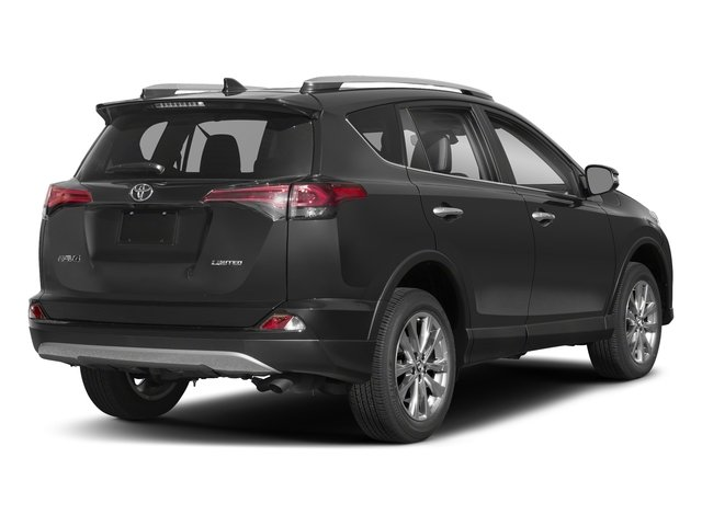 Magnetic Gray Metallic 2018 Toyota RAV4 Pictures RAV4 Utility 4D Limited 2WD I4 photos rear view