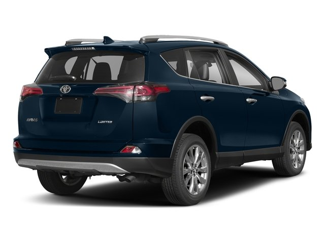Galactic Aqua Mica 2018 Toyota RAV4 Pictures RAV4 Utility 4D Limited 2WD I4 photos rear view