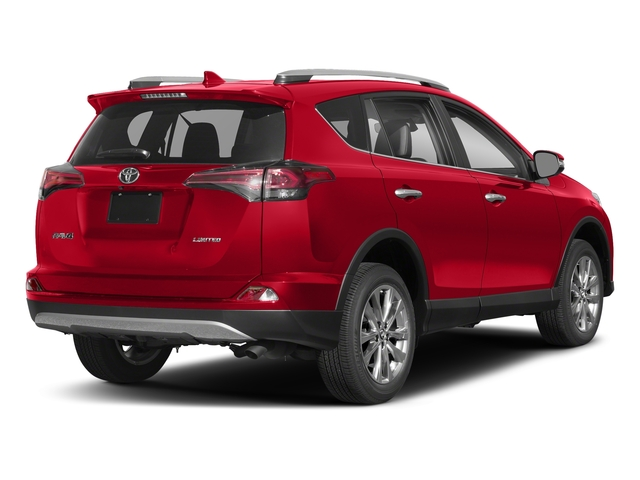 Ruby Flare Pearl 2018 Toyota RAV4 Pictures RAV4 Utility 4D Limited 2WD I4 photos rear view