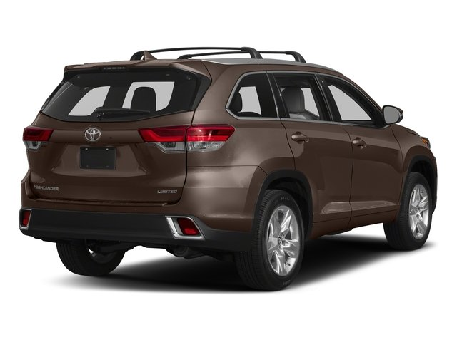 Toasted Walnut Pearl 2018 Toyota Highlander Pictures Highlander Utility 4D Limited 4WD V6 photos rear view