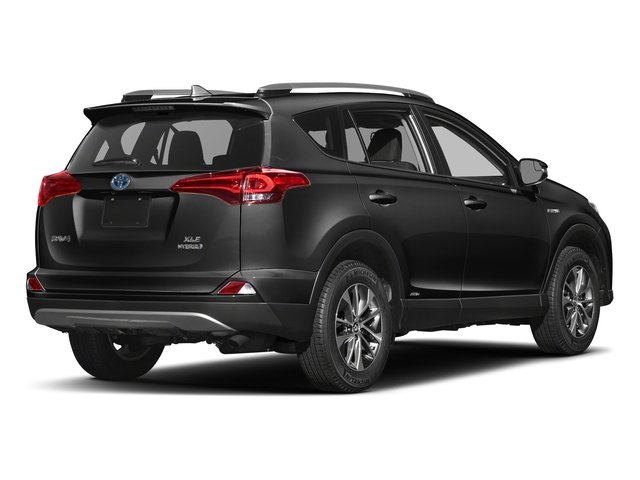 Magnetic Gray Metallic 2018 Toyota RAV4 Pictures RAV4 Utility 4D XLE AWD I4 Hybrid photos rear view
