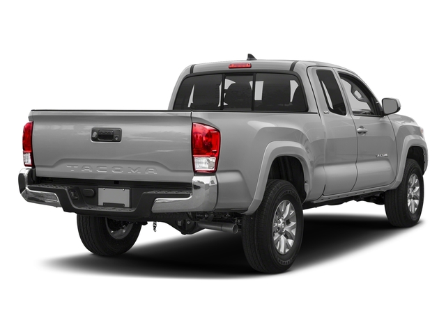 Silver Sky Metallic 2018 Toyota Tacoma Pictures Tacoma SR5 Extended Cab 4WD I4 photos rear view