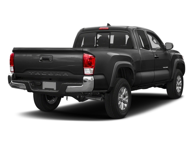 Magnetic Gray Metallic 2018 Toyota Tacoma Pictures Tacoma SR5 Extended Cab 4WD I4 photos rear view
