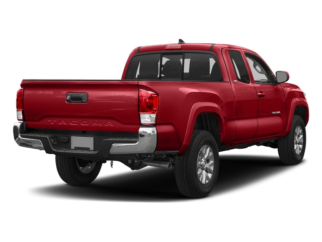 Barcelona Red Metallic 2018 Toyota Tacoma Pictures Tacoma SR5 Extended Cab 4WD I4 photos rear view