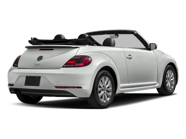 Pure White/Black Roof 2018 Volkswagen Beetle Convertible Pictures Beetle Convertible S Auto photos rear view