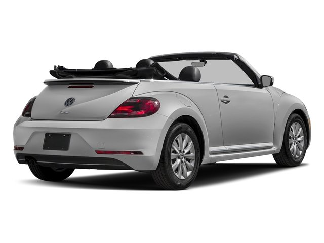 White Silver Metallic/Black Roof 2018 Volkswagen Beetle Convertible Pictures Beetle Convertible S Auto photos rear view
