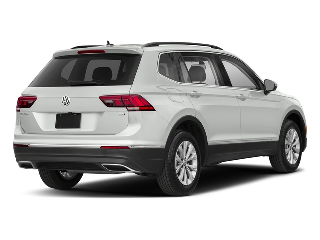 Pure White 2018 Volkswagen Tiguan Pictures Tiguan 2.0T SEL 4MOTION photos rear view