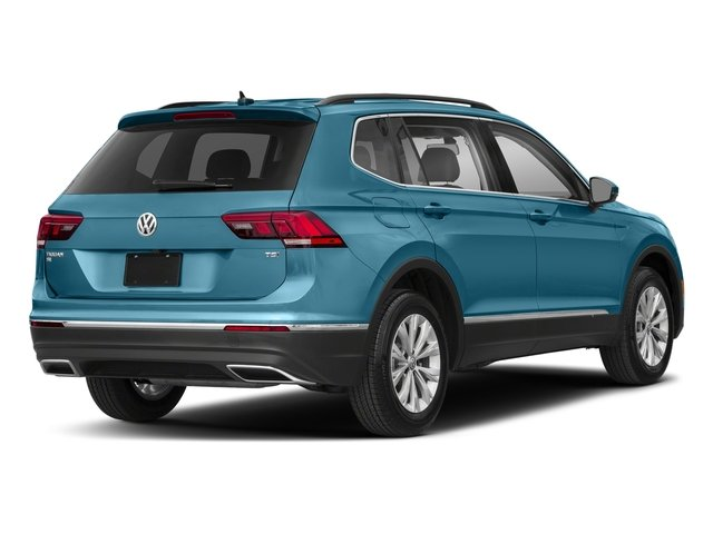 Silk Blue Metallic 2018 Volkswagen Tiguan Pictures Tiguan 2.0T SEL 4MOTION photos rear view