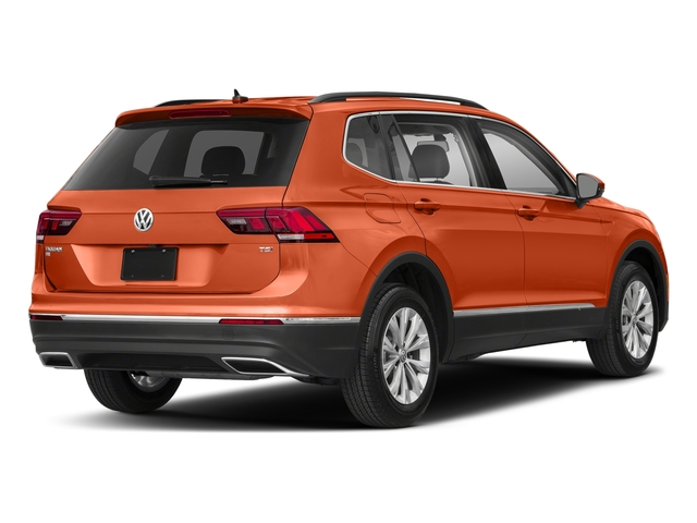 Habanero Orange Metallic 2018 Volkswagen Tiguan Pictures Tiguan 2.0T SEL 4MOTION photos rear view