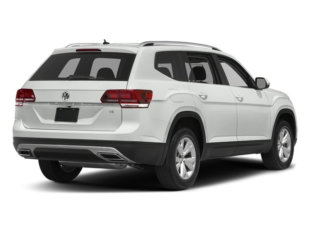 Pure White 2018 Volkswagen Atlas Pictures Atlas 3.6L V6 SEL 4MOTION photos rear view