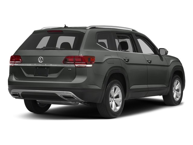 Platinum Gray Metallic 2018 Volkswagen Atlas Pictures Atlas 3.6L V6 S 4MOTION photos rear view