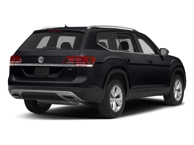 Deep Black Pearl 2018 Volkswagen Atlas Pictures Atlas 3.6L V6 SEL 4MOTION photos rear view