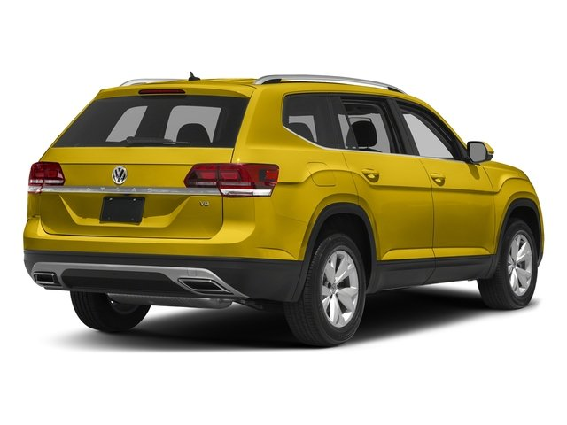 Kurkuma Yellow Metallic 2018 Volkswagen Atlas Pictures Atlas 3.6L V6 S 4MOTION photos rear view