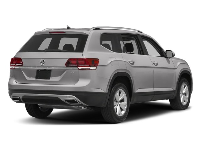 Reflex Silver Metallic 2018 Volkswagen Atlas Pictures Atlas 3.6L V6 S 4MOTION photos rear view